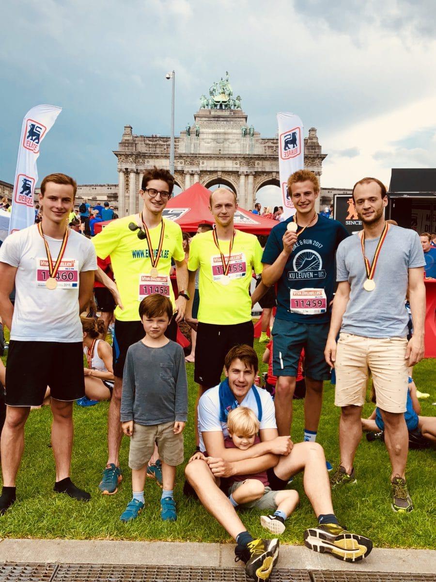 Engibex running team - 20km Brussels 2018