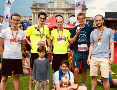 ENGIBEX participated in the 20 KM of Brussels for the shape and for the good cause!