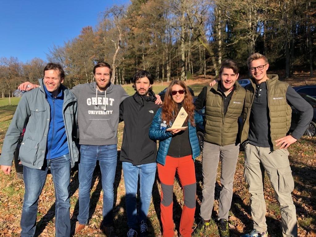 Engibex team event Ardennen 2018