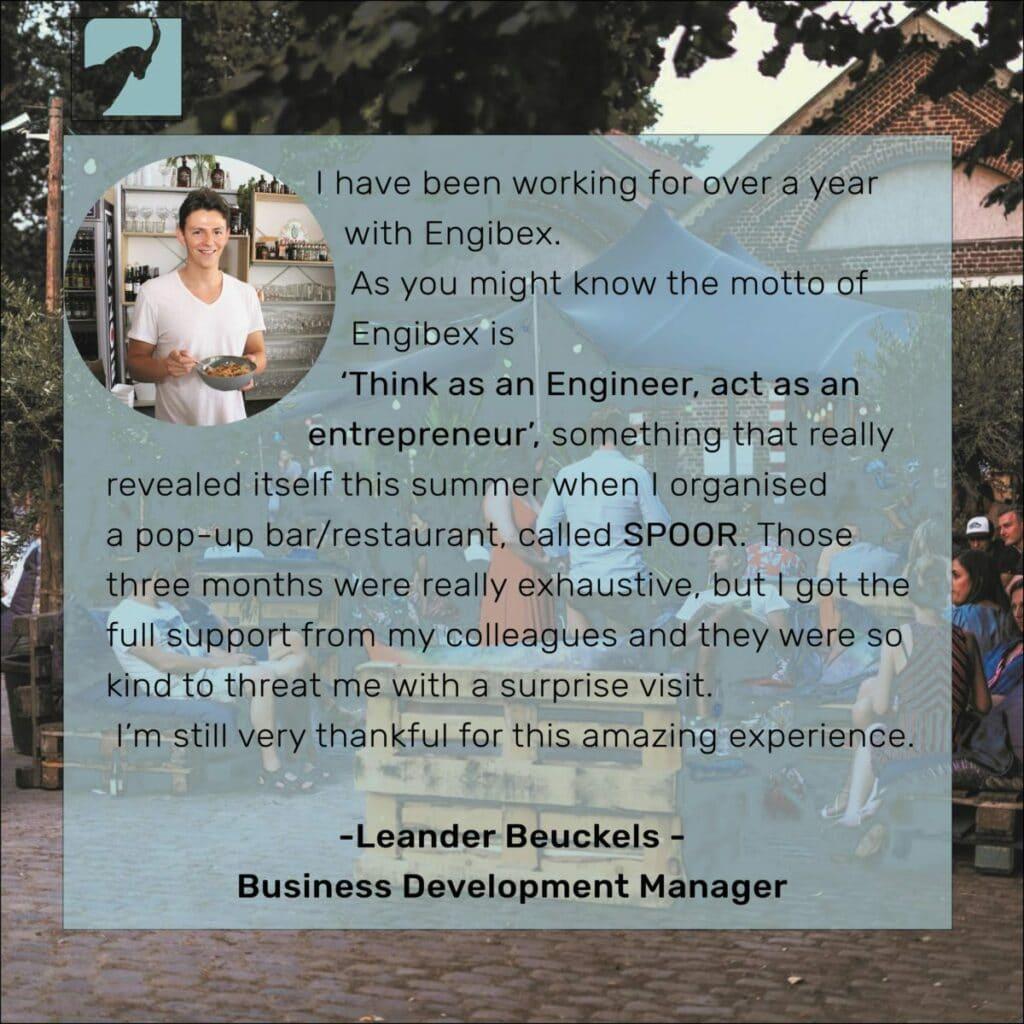 Leander Business Development Manager